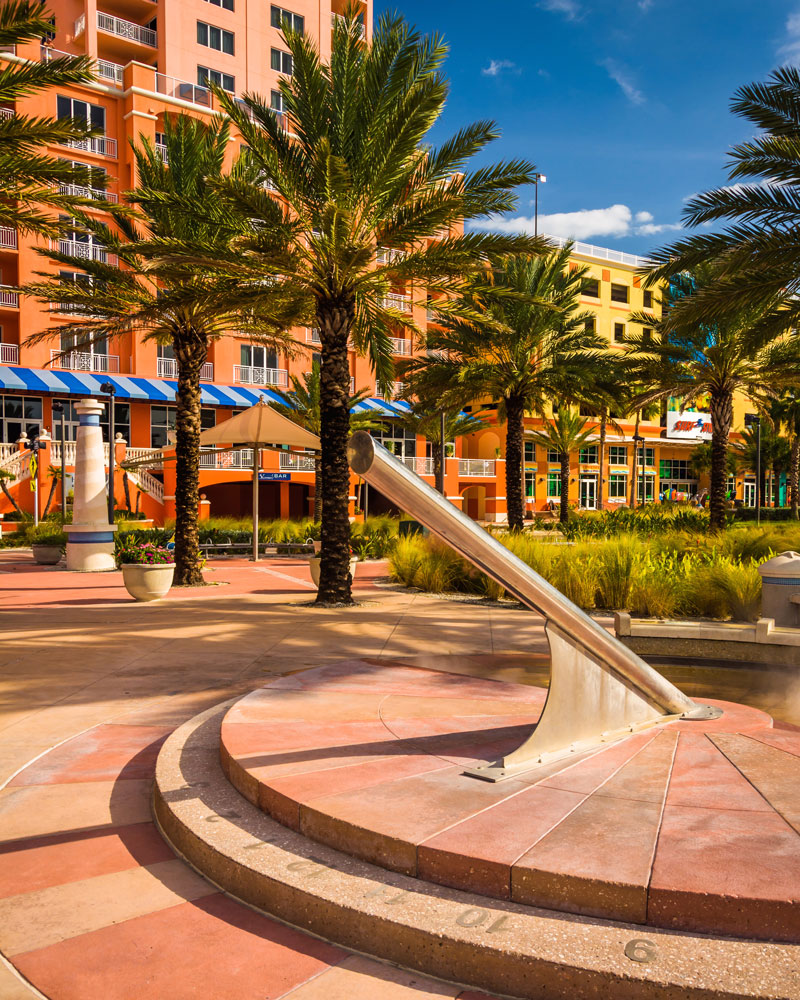 Sundial in Clearwater Beach, FL